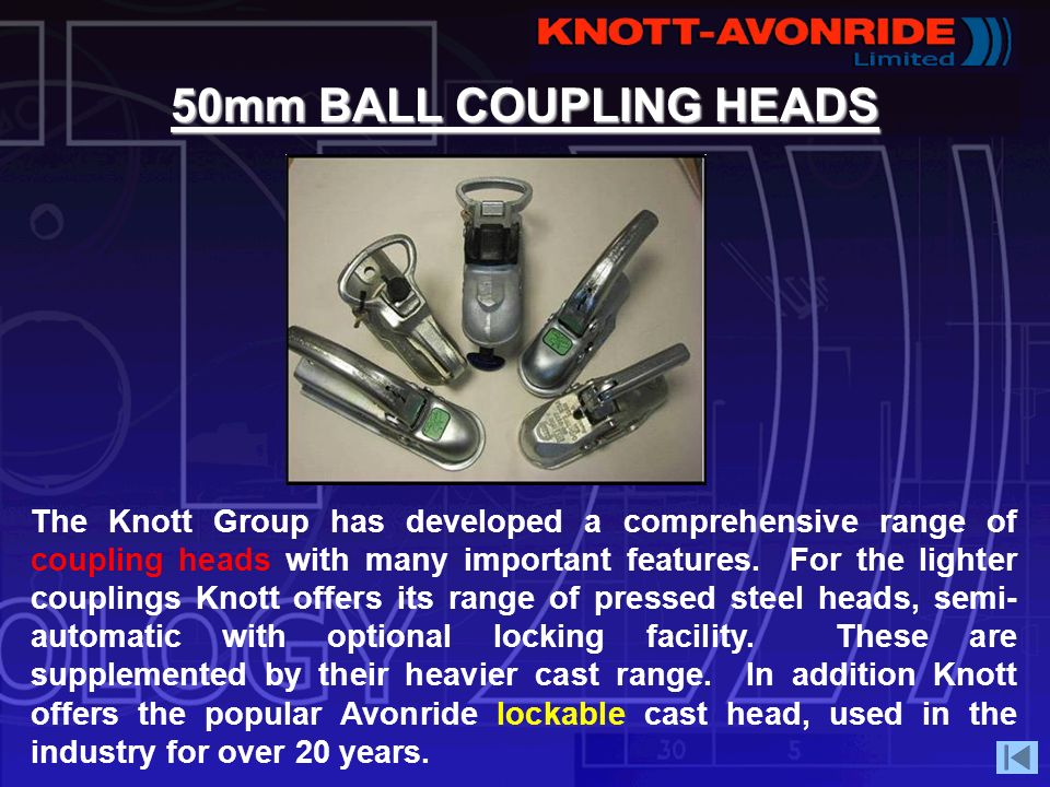 50mm BALL COUPLING HEADS