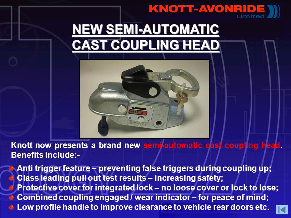 NEW SEMI-AUTOMATIC CAST COUPLING HEAD