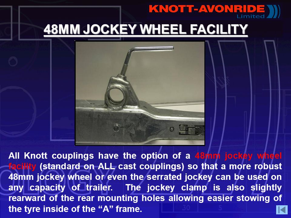 48MM JOCKEY WHEEL FACILITY