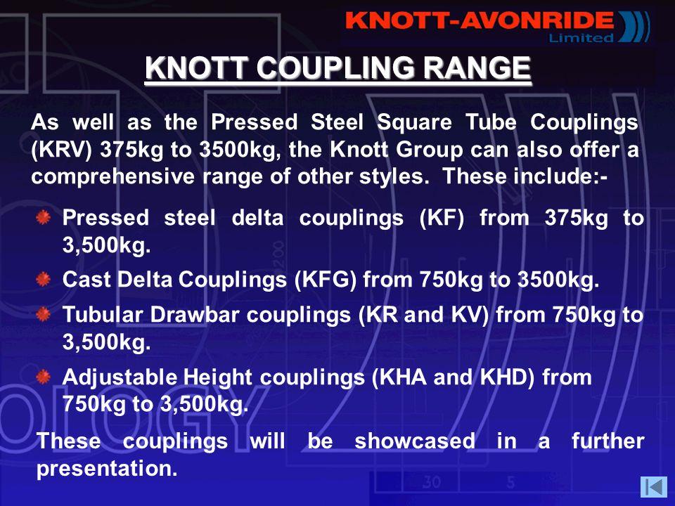 KNOTT COUPLING RANGE