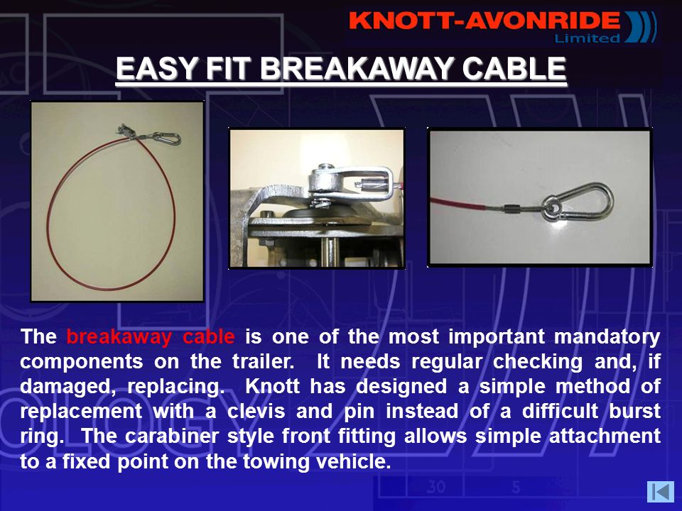EASY FIT BREAKAWAY CABLE