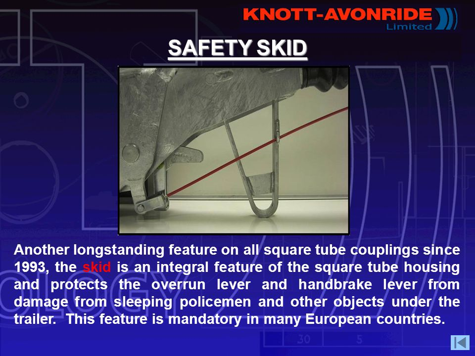 SAFETY SKID