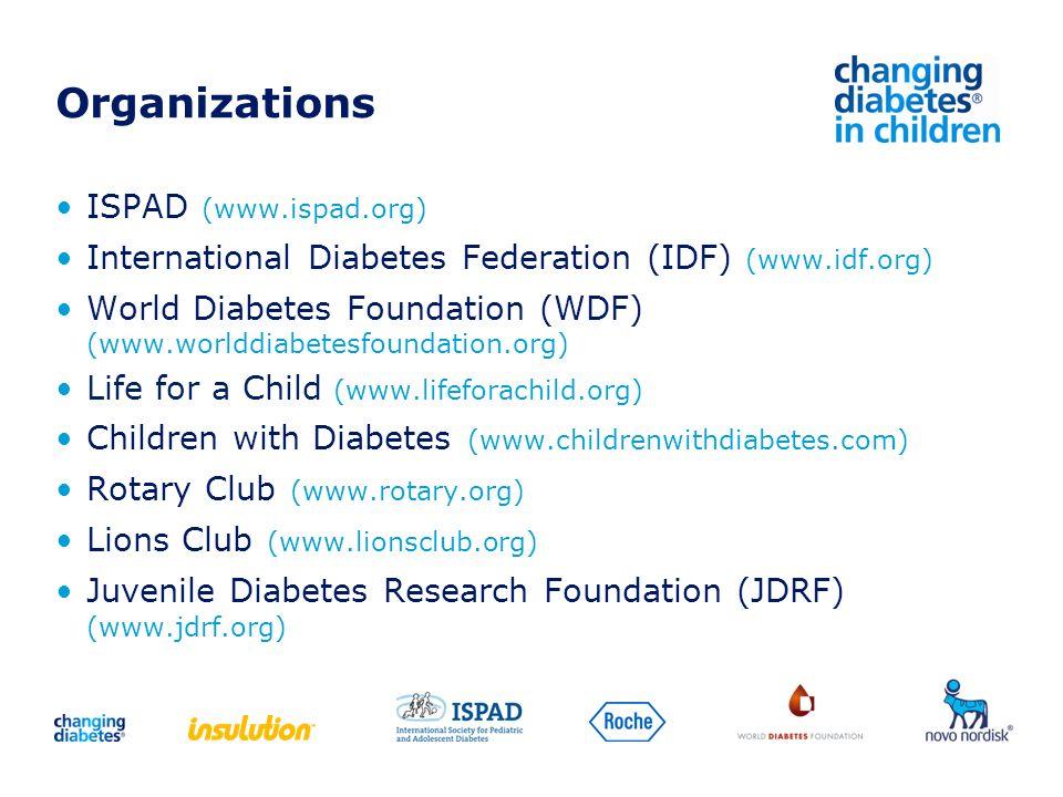 Organizations ISPAD (www.ispad.org)