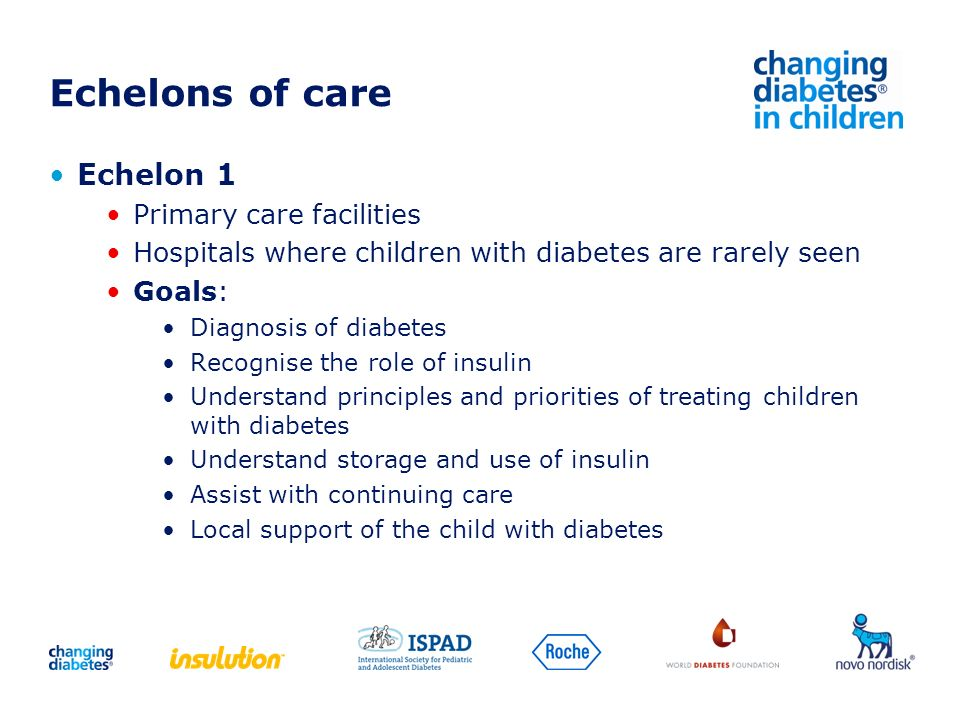 Echelons of care Echelon 1 Primary care facilities