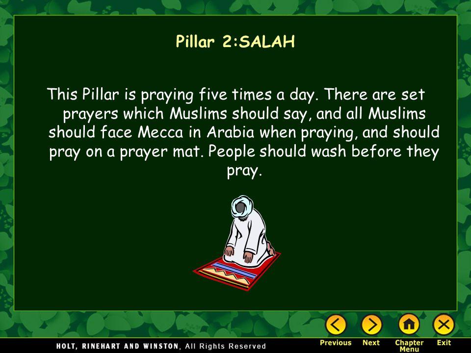 Pillar 2:SALAH