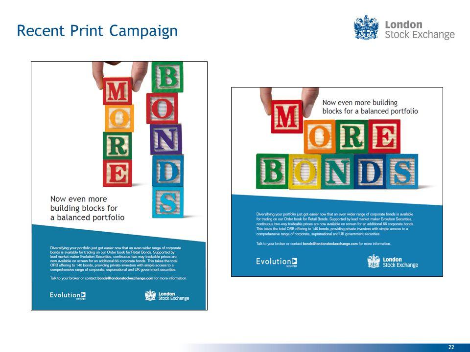 Recent Print Campaign