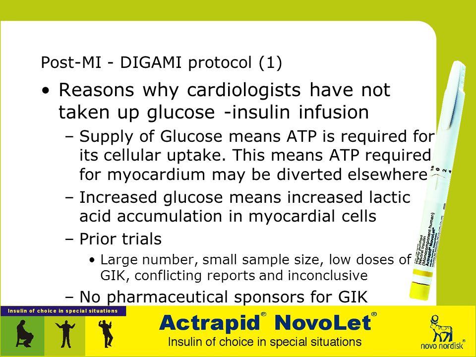 Post-MI - DIGAMI protocol (1)