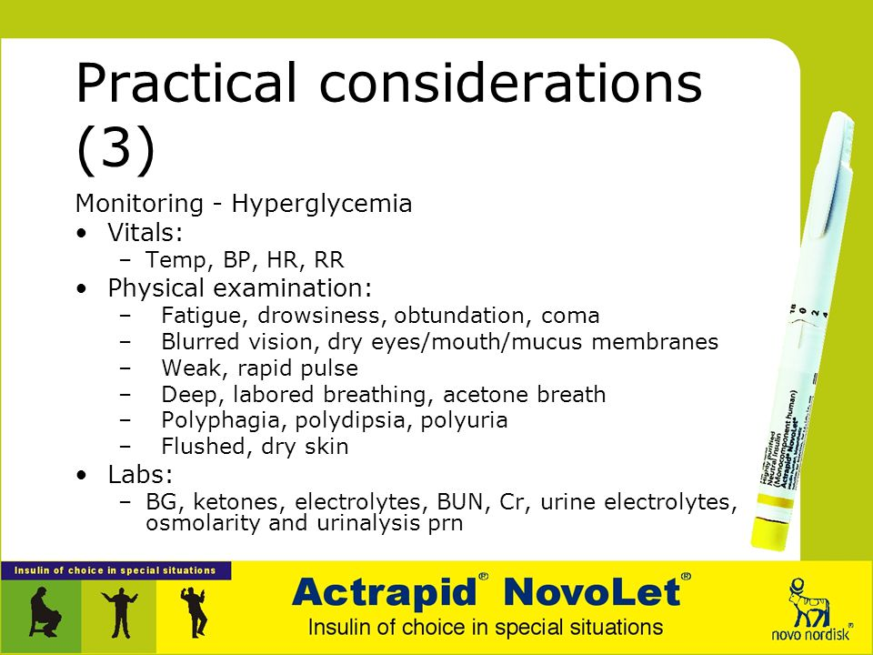 Practical considerations (3)