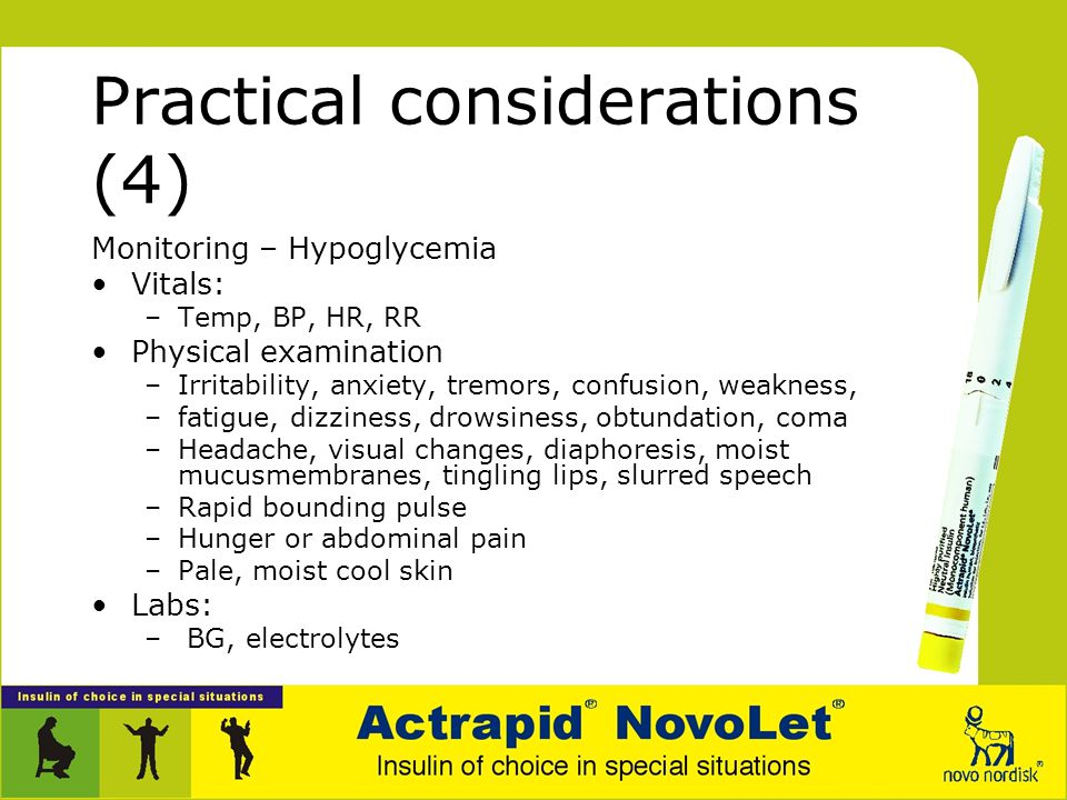 Practical considerations (4)