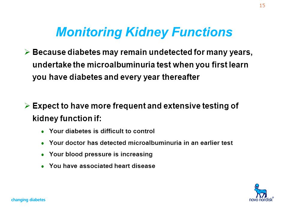 Monitoring Kidney Functions