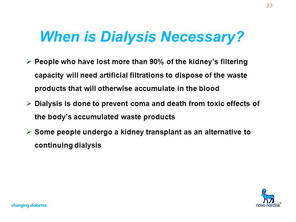 When is Dialysis Necessary