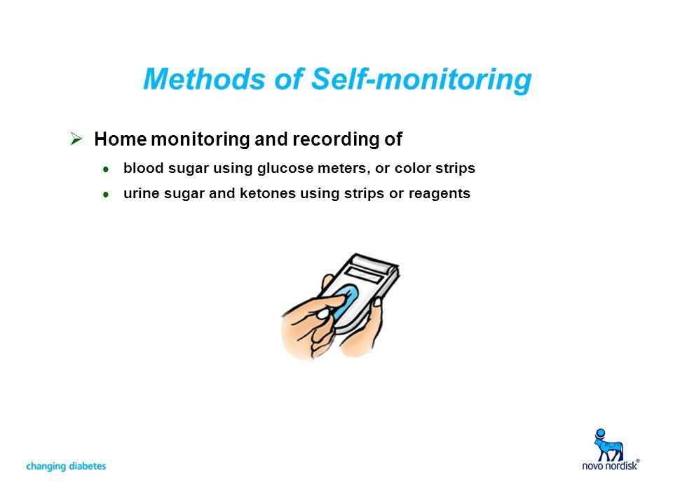 Methods of Self-monitoring