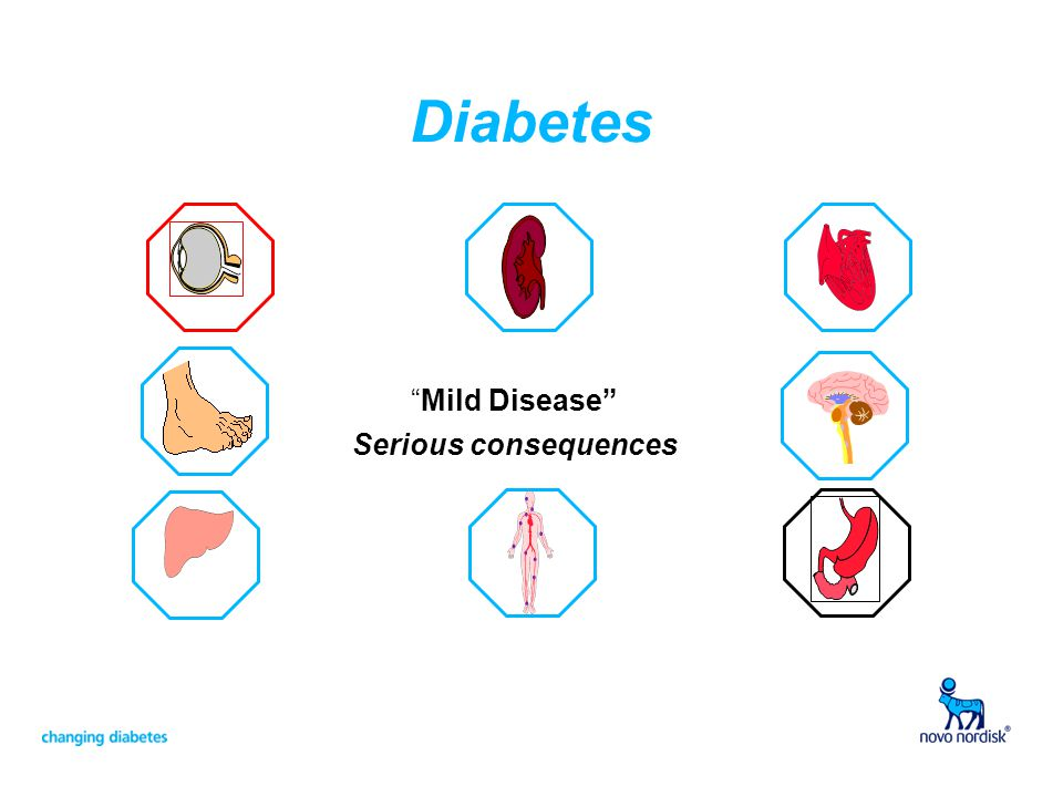 Diabetes Mild Disease Serious consequences