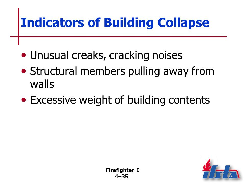 Actions When Imminent Building Collapse Suspected