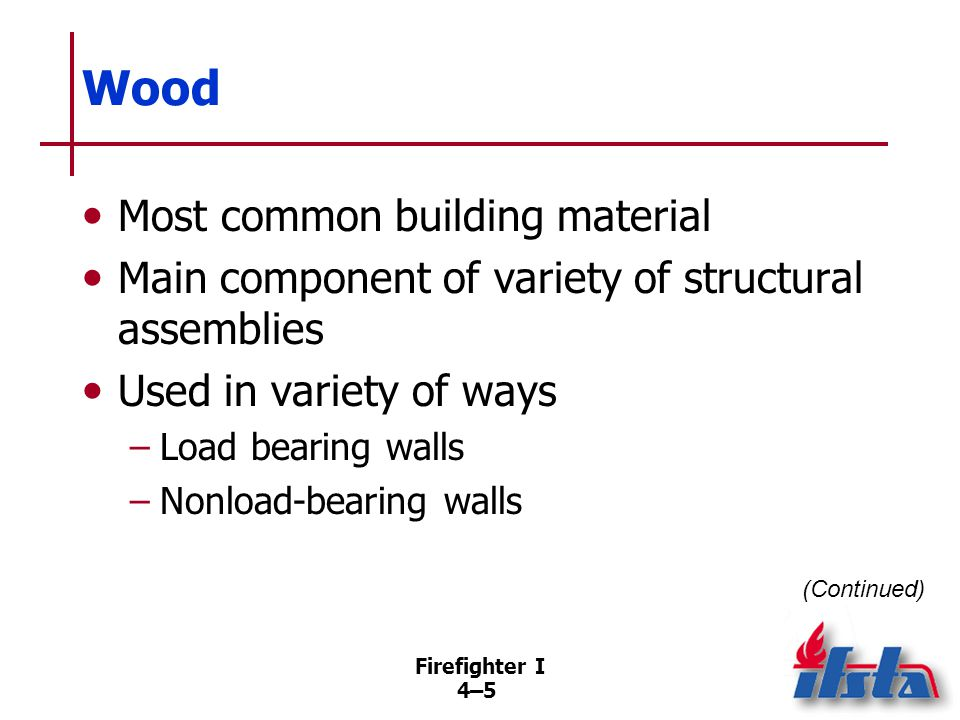 Wood Reaction to fire depends on two factors