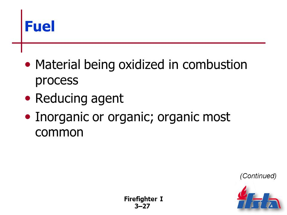 Fuel Organic can be broken into: