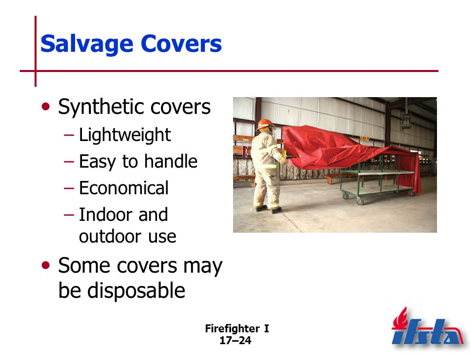Salvage Cover Maintenance
