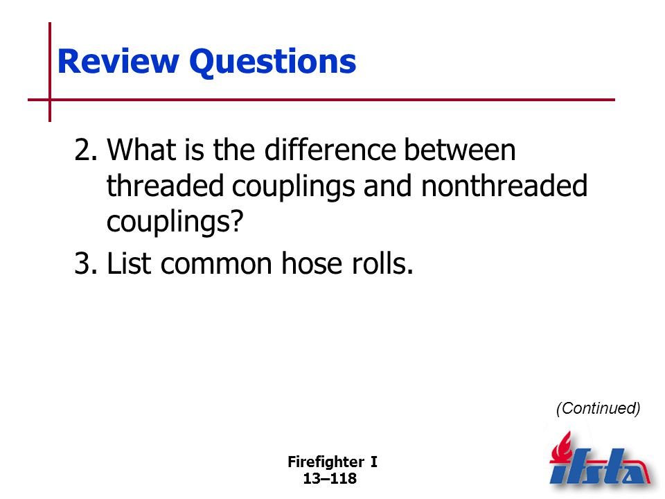 Review Questions 4. List four general loading guidelines.