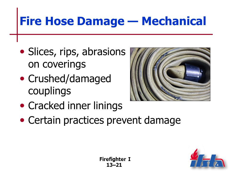 Fire Hose Damage — Thermal