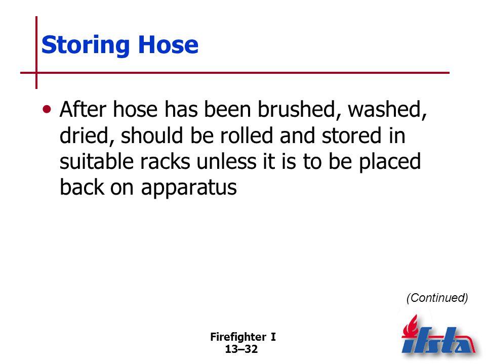 Storing Hose Hose racks