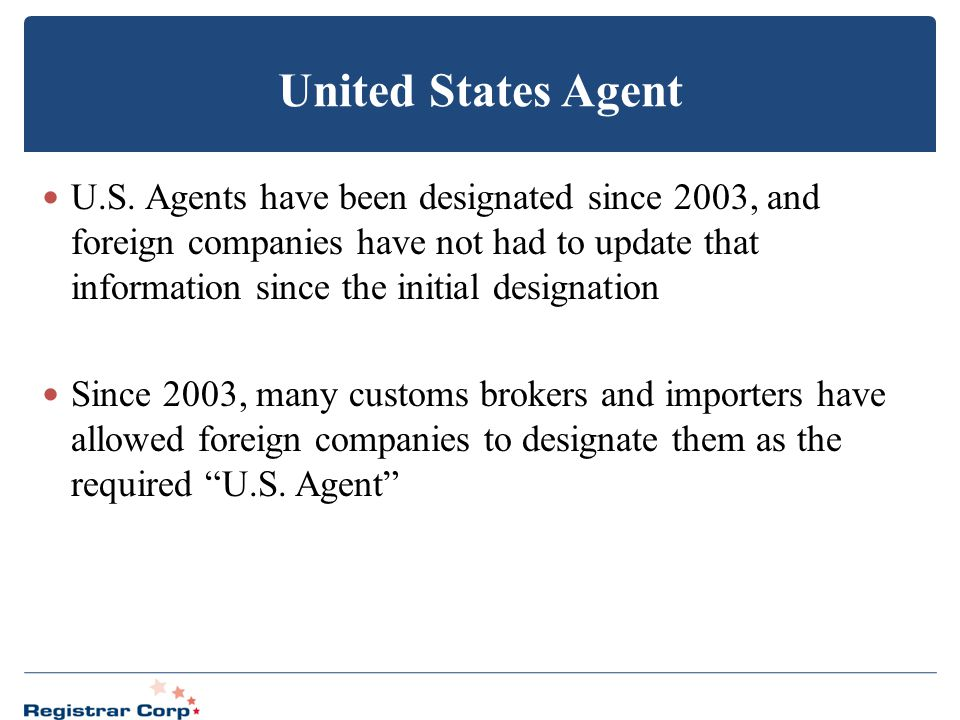 United States Agent