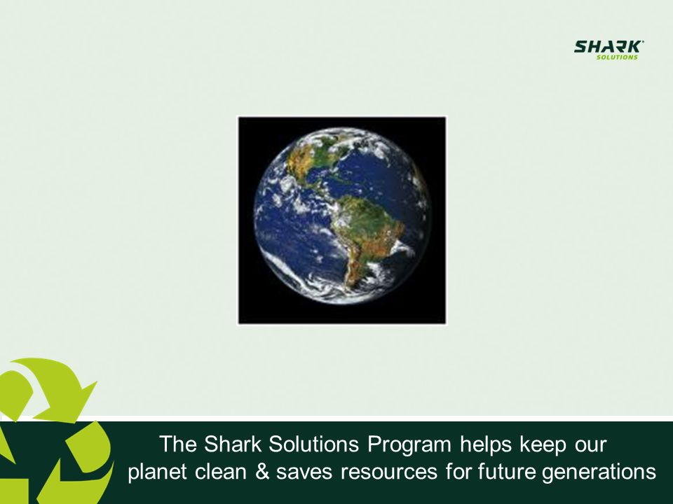 The Shark Solutions Program helps keep our