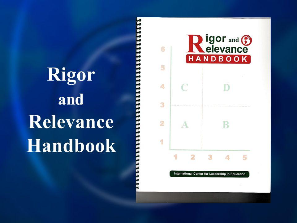 Rigor and Relevance Handbook