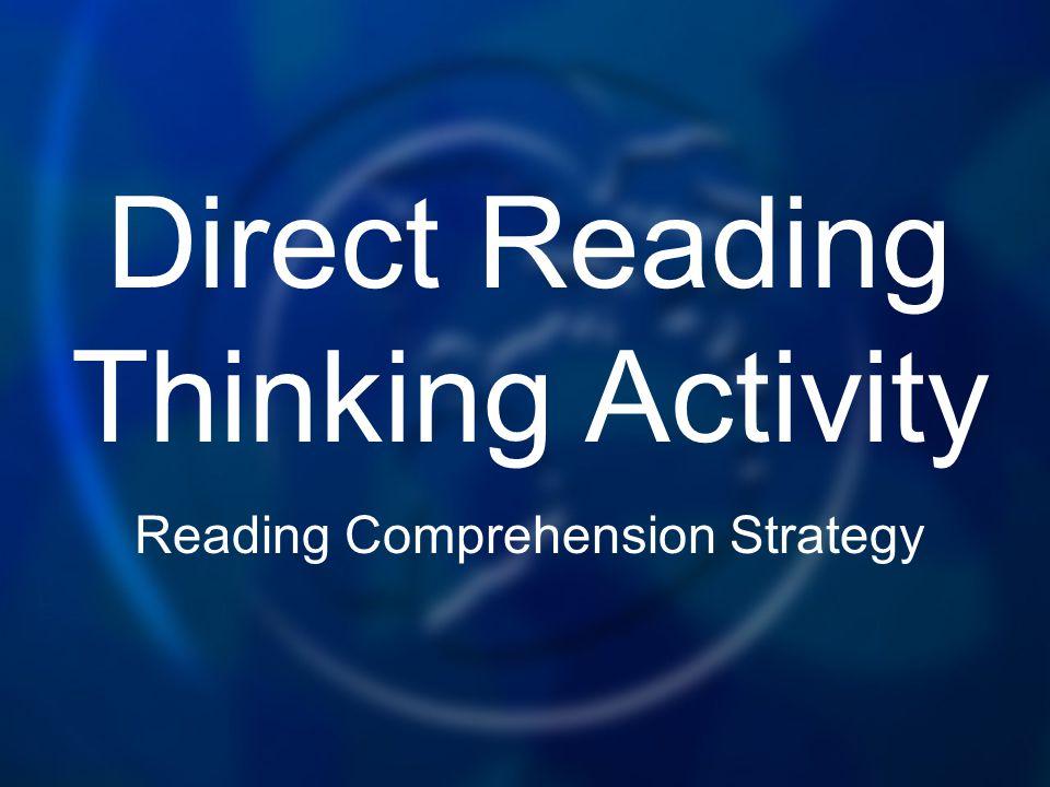 Direct Reading Thinking Activity