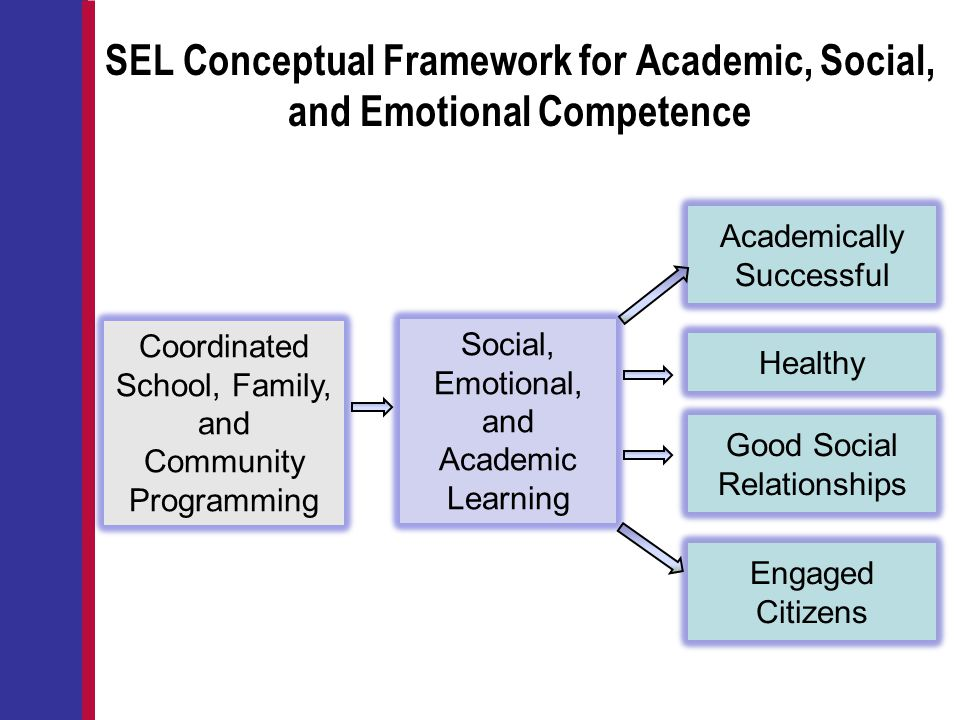 SEL Conceptual Framework for Academic, Social, and Emotional Competence