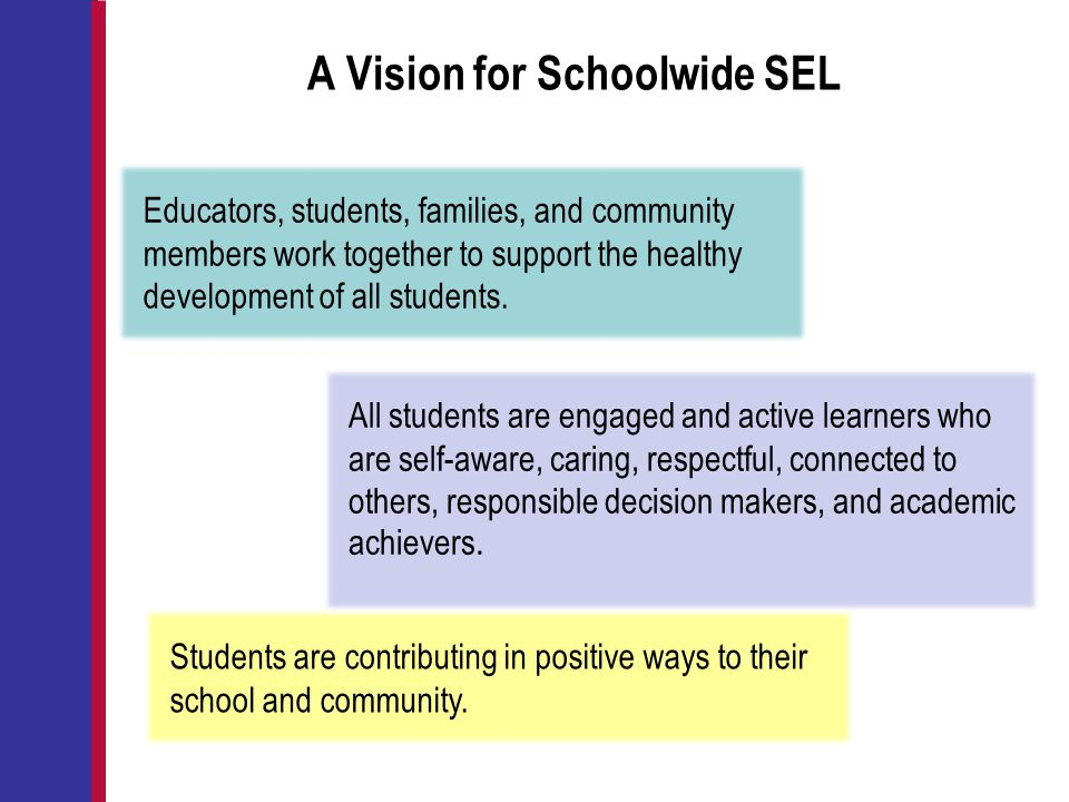 A Vision for Schoolwide SEL