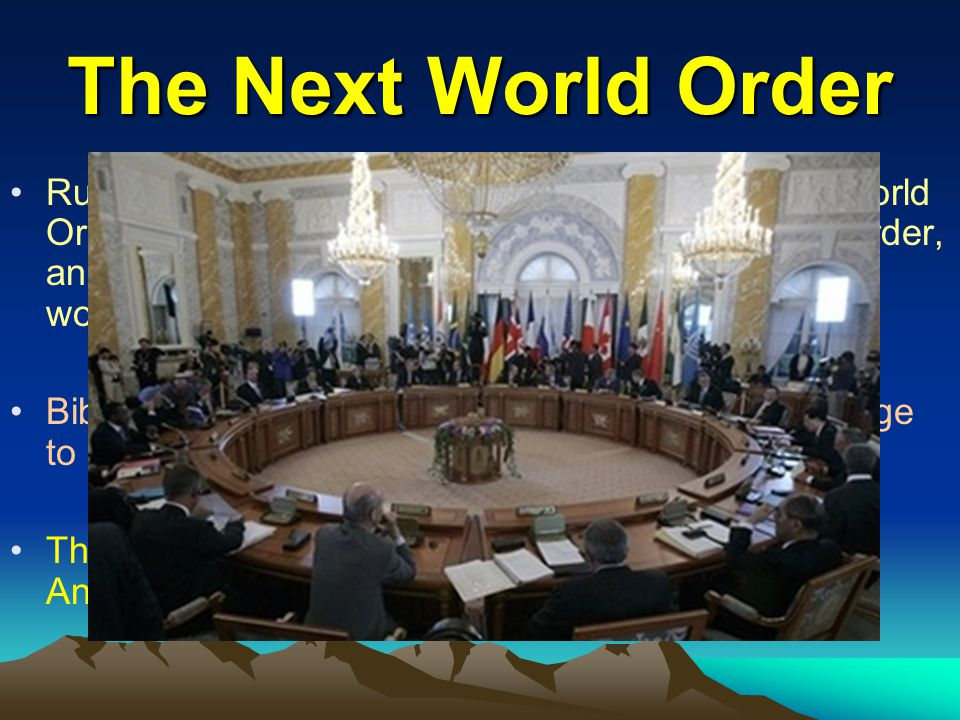 The Next World Order