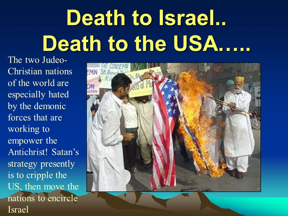 Death to Israel.. Death to the USA…..