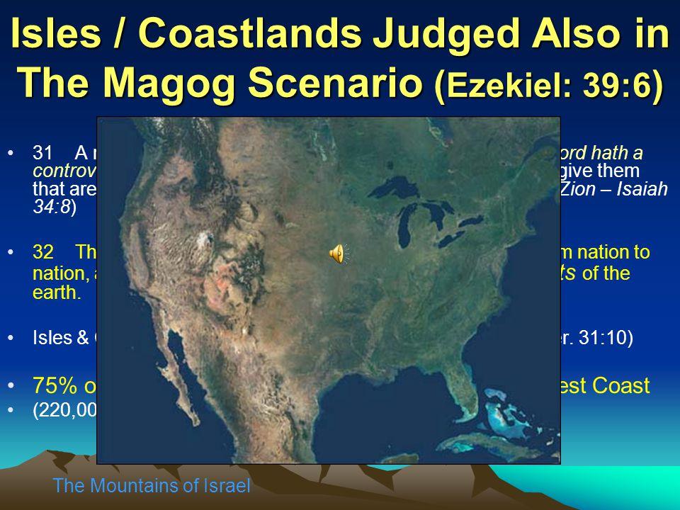 Isles / Coastlands Judged Also in The Magog Scenario (Ezekiel: 39:6)