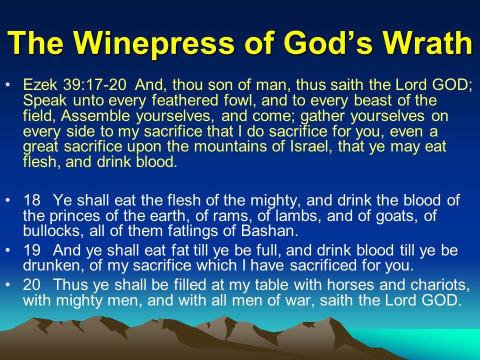 The Winepress of God's Wrath