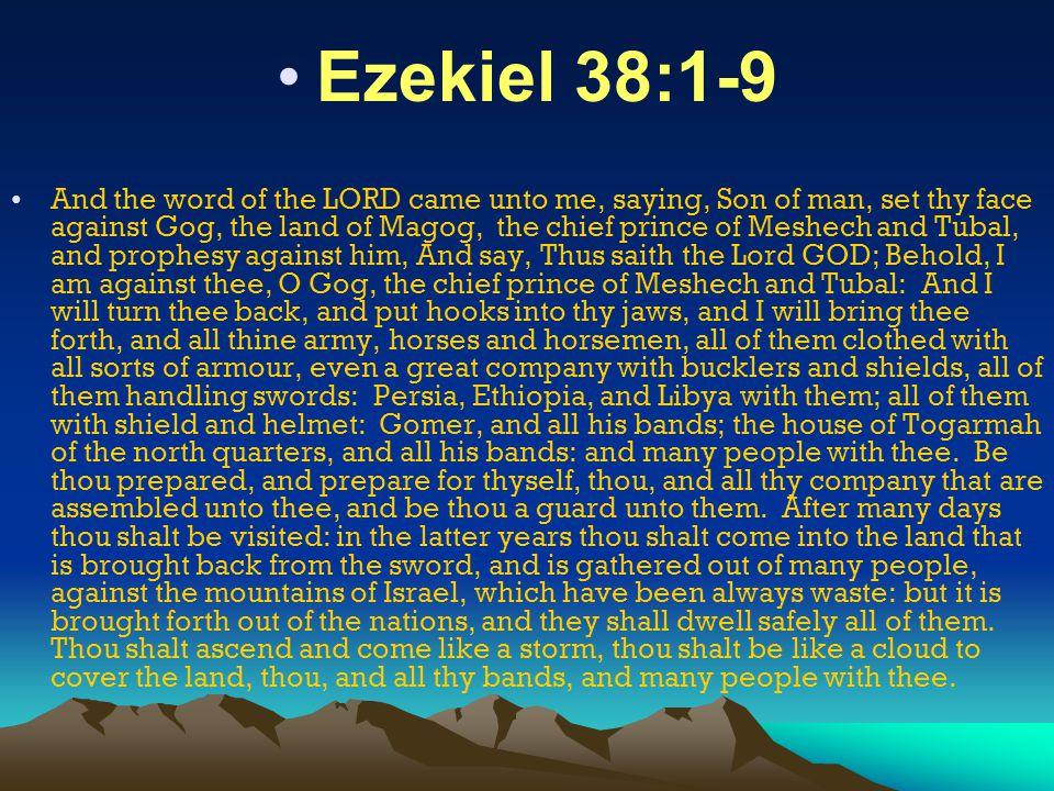Ezekiel 38:1-9