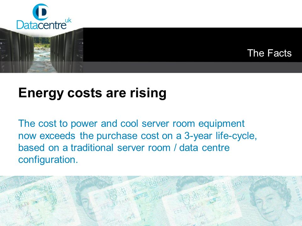 Energy costs are rising