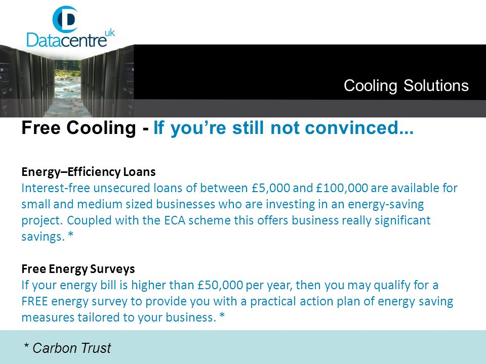 Free Cooling - If you're still not convinced...