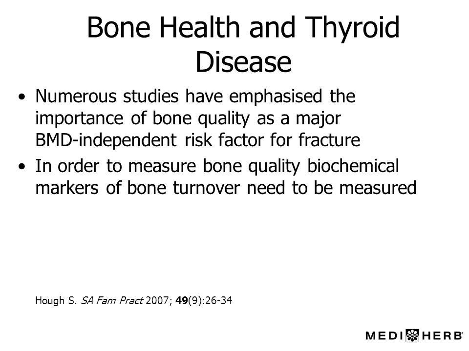 Bone Health and Thyroid Disease