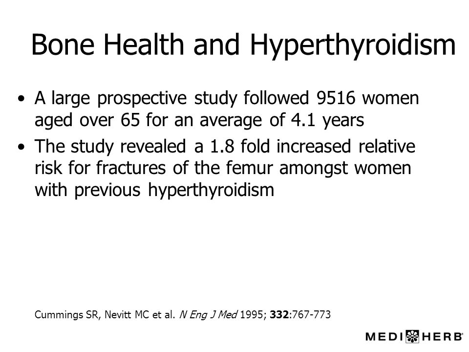Bone Health and Hyperthyroidism