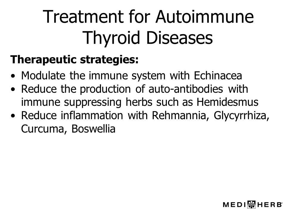 Treatment for Autoimmune Thyroid Diseases