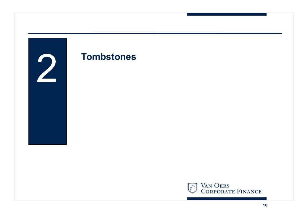 2 Tombstones