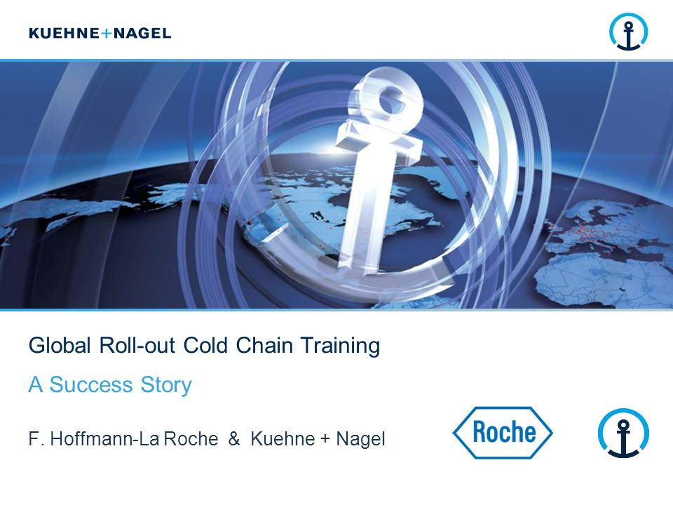 Global Roll-out Cold Chain Training