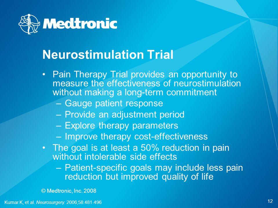 Neurostimulation Trial
