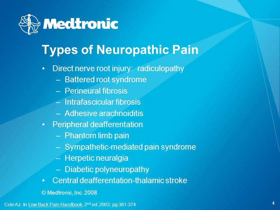Types of Neuropathic Pain