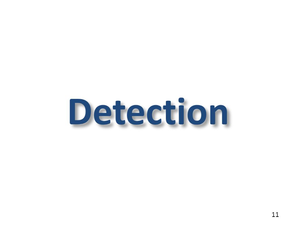 Detection 11