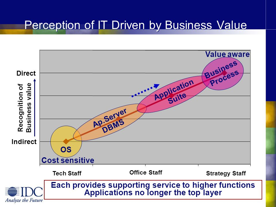 Perception of IT Driven by Business Value