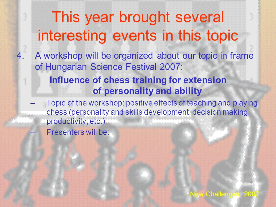 This year brought several interesting events in this topic