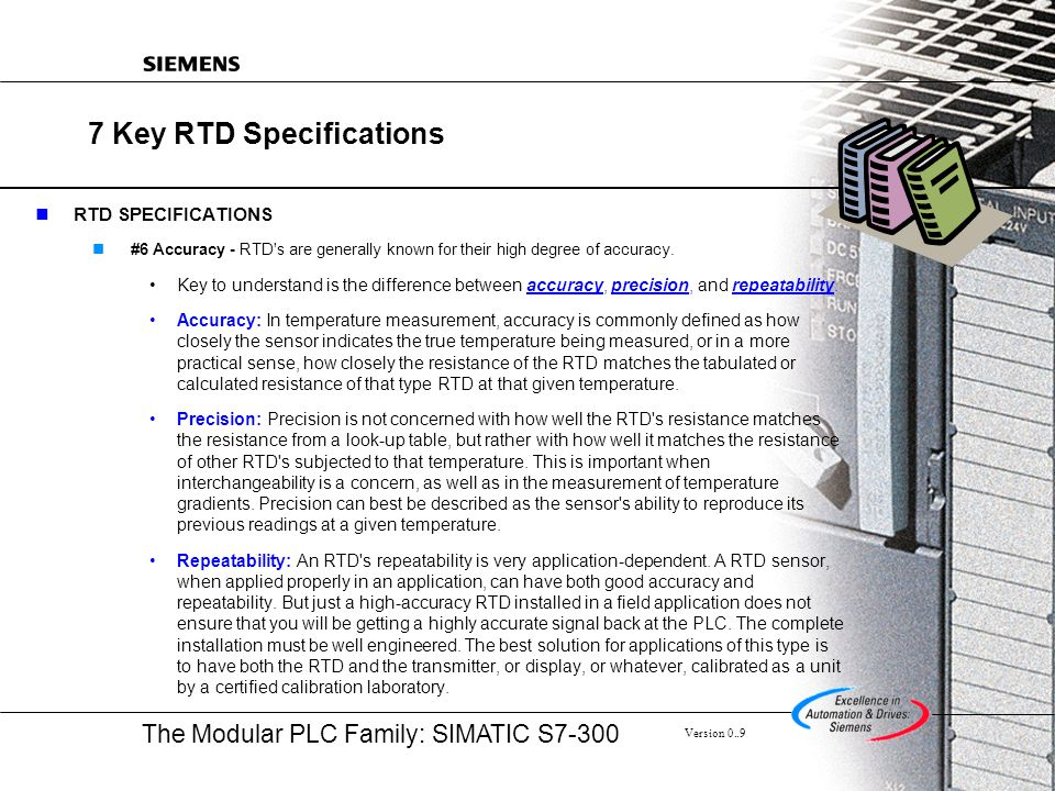 7 Key RTD Specifications
