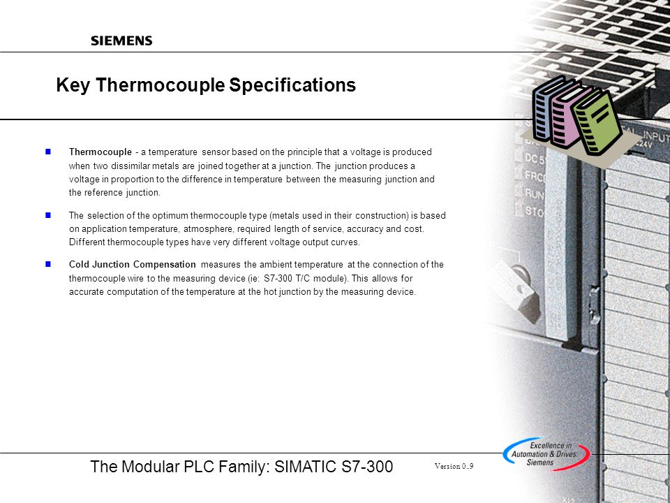 Key Thermocouple Specifications