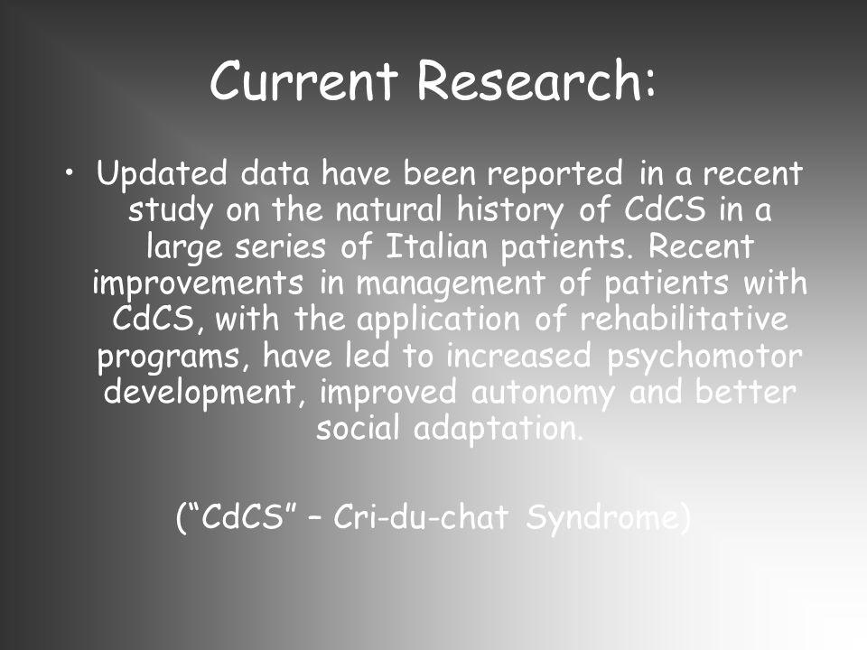 ( CdCS – Cri-du-chat Syndrome)